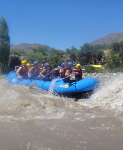 Tour - Rafting in Maipo River and BBQ